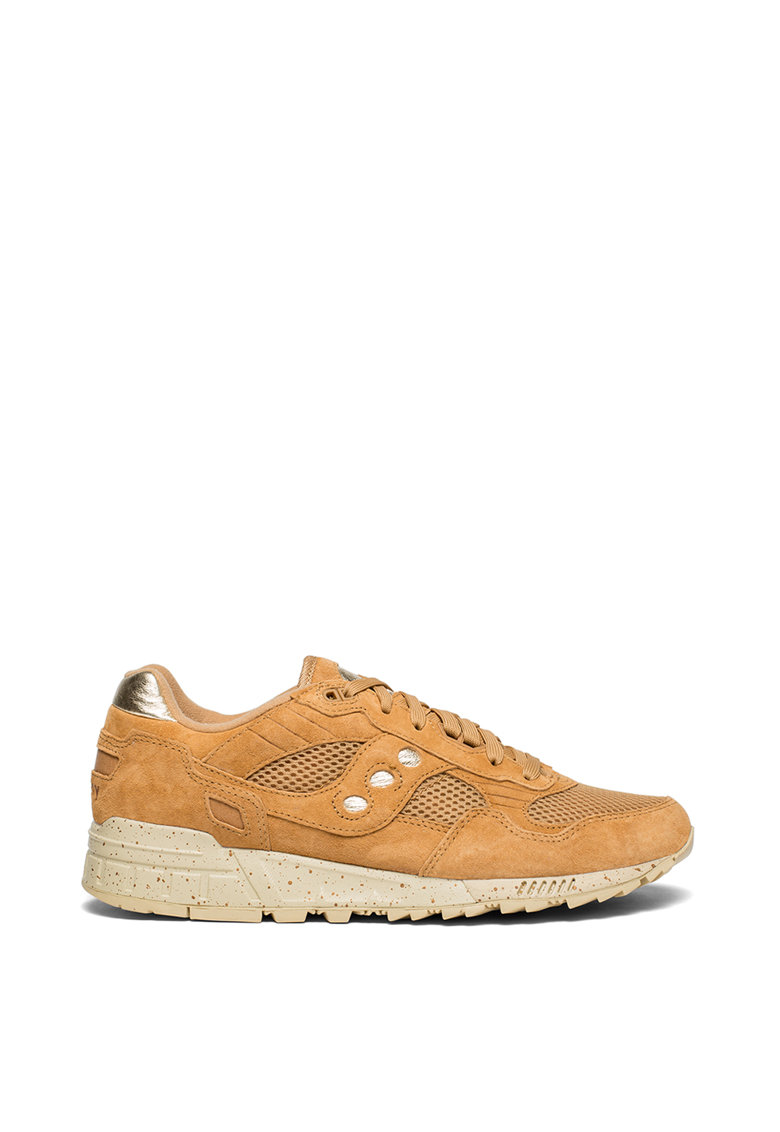 Pantofi sport de piele intoarsa si plasa Shadow 5000