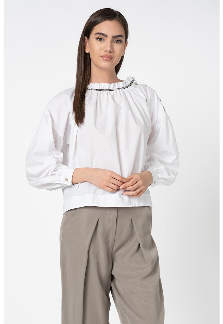 Bluza tip tunica - cu aplicatie metalica imagine