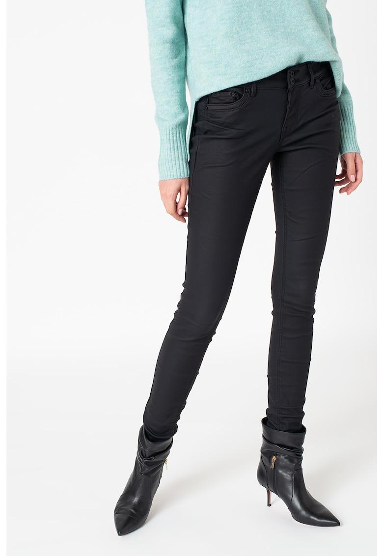 Pantaloni de piele ecologica