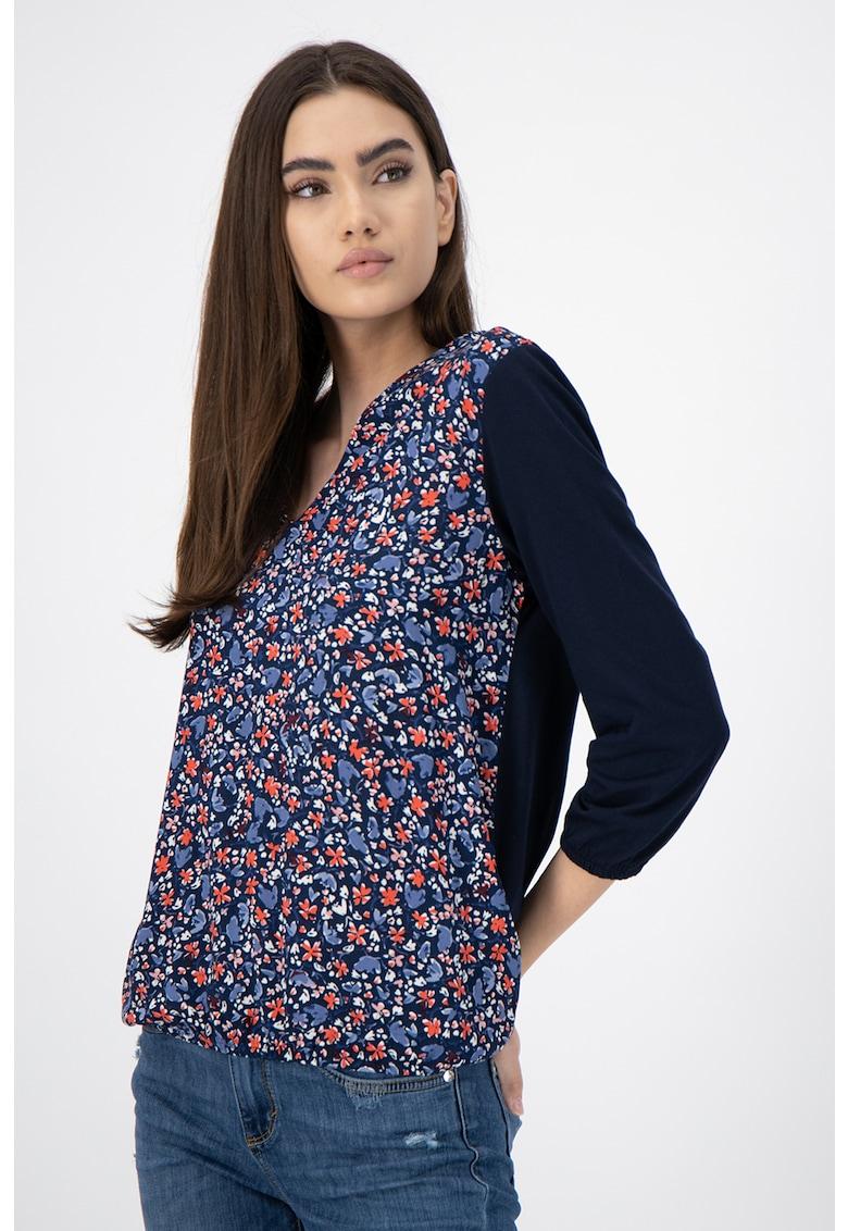 Bluza din amestec de modal cu imprimeu imagine promotie