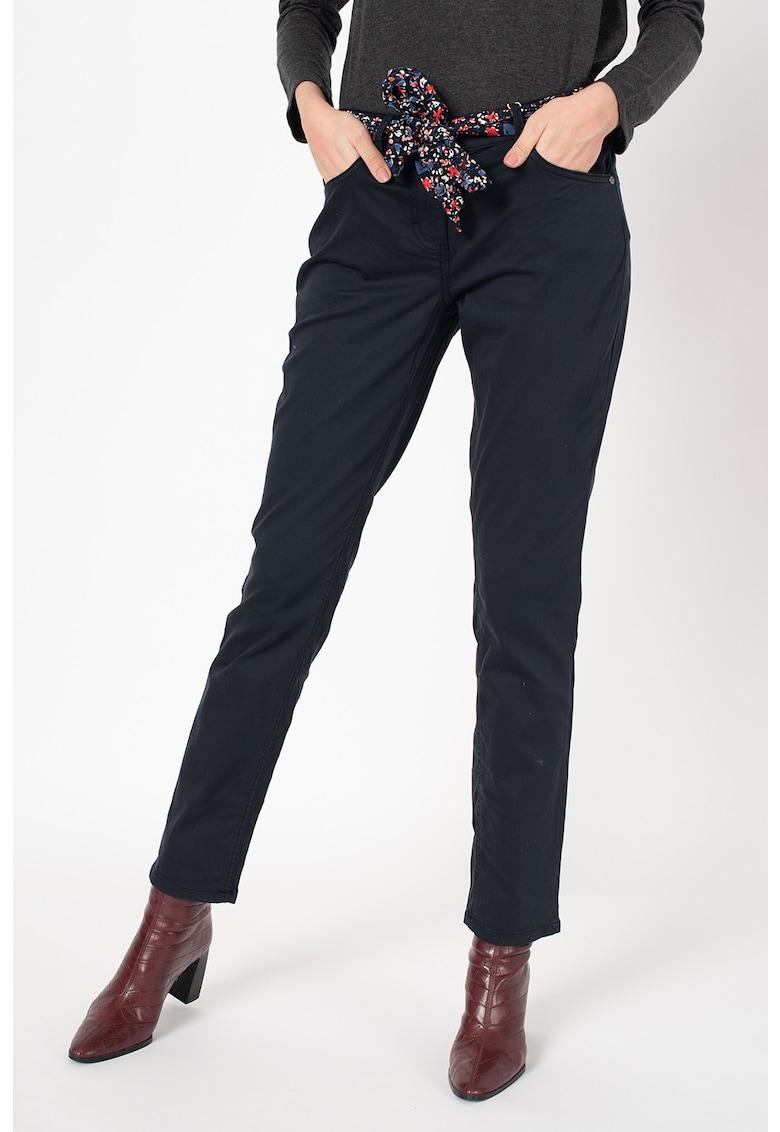 Pantaloni slim fit cu cordon in talie Alexa