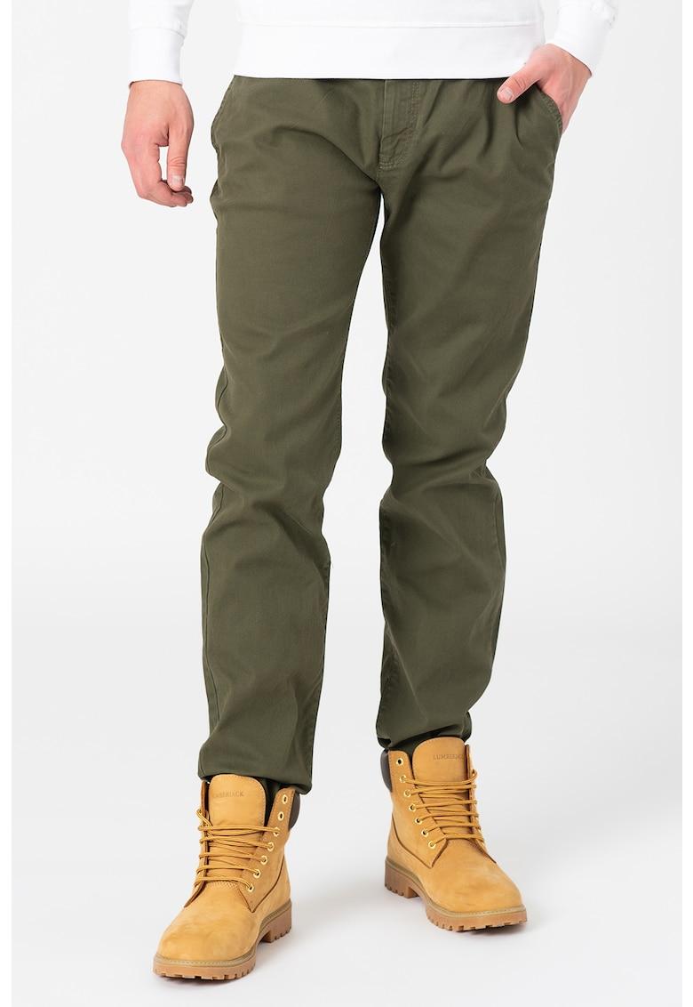 Pantaloni chino cu talie medie de la Tom Tailor