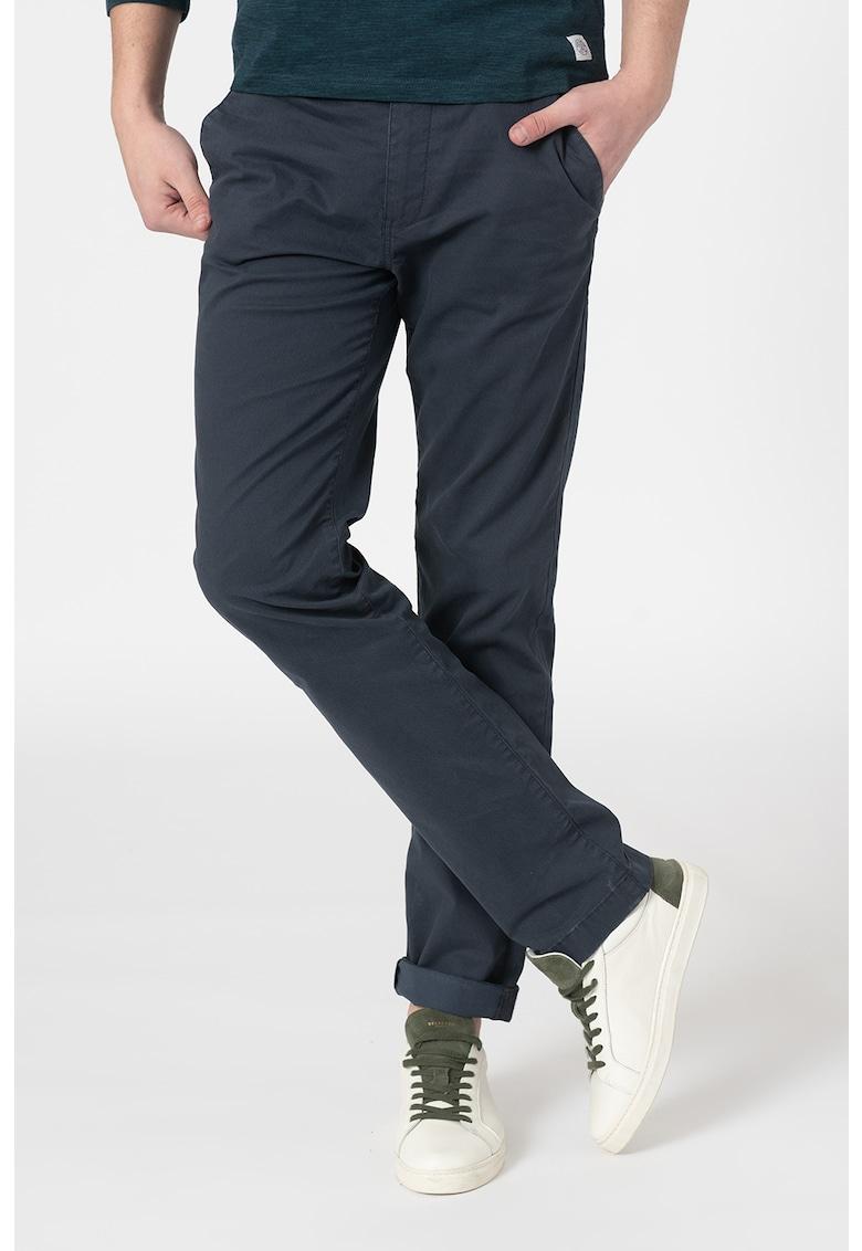 Pantaloni chino drepti de la Tom Tailor