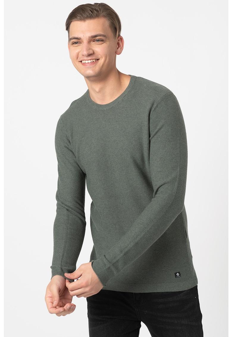 Pulover tricotat fin texturat