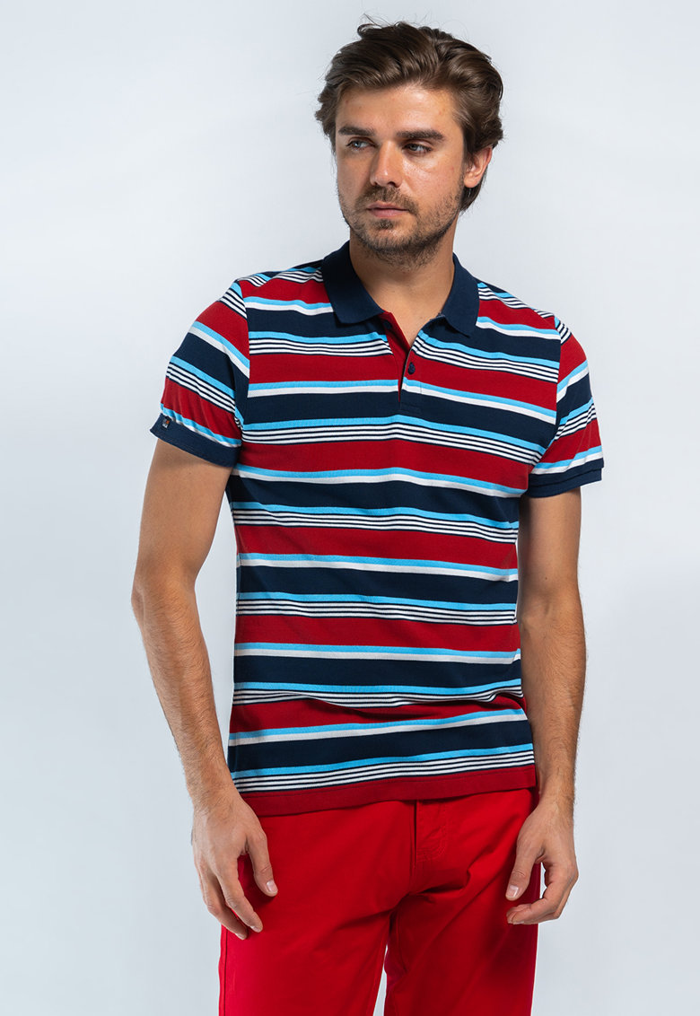 Tricou polo in dungi imagine fashiondays.ro