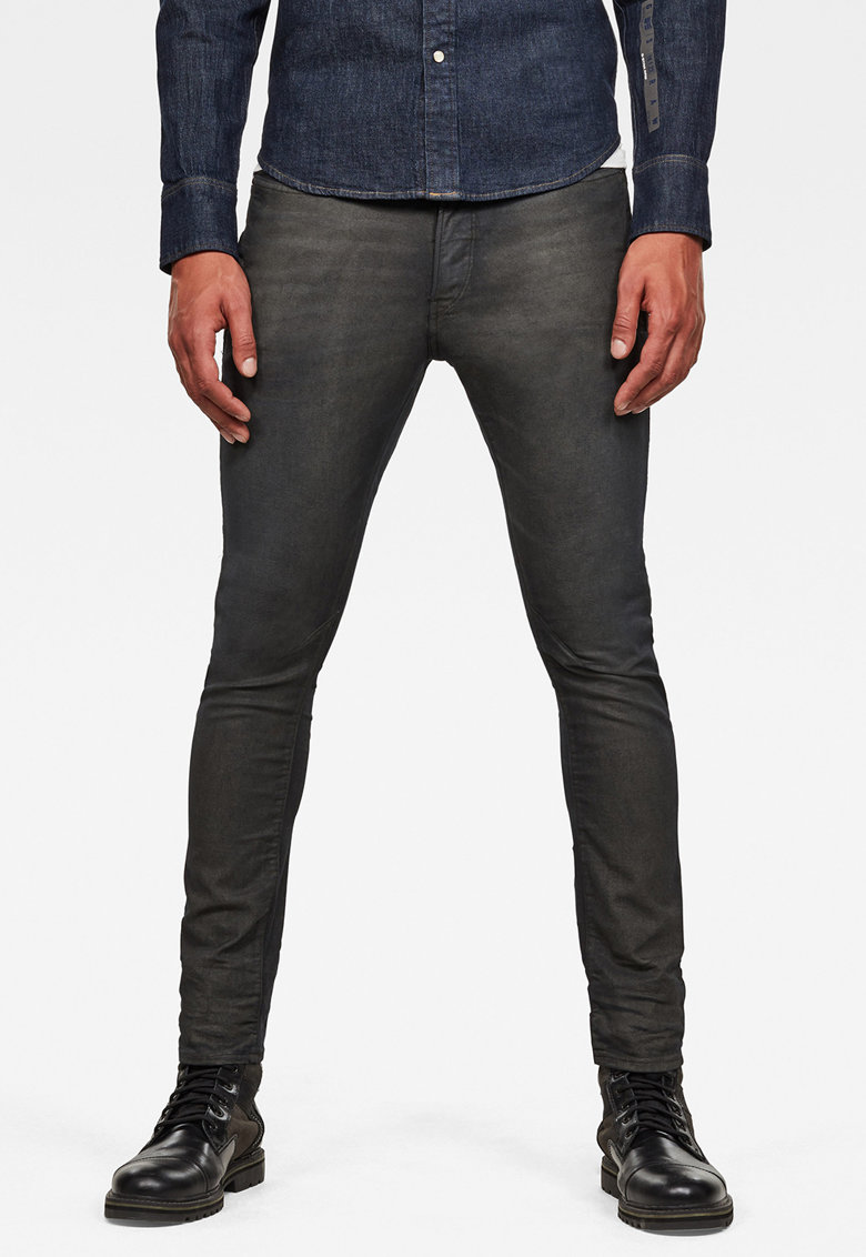 G-Star RAW Blugi slim fit cu aspect decolorat