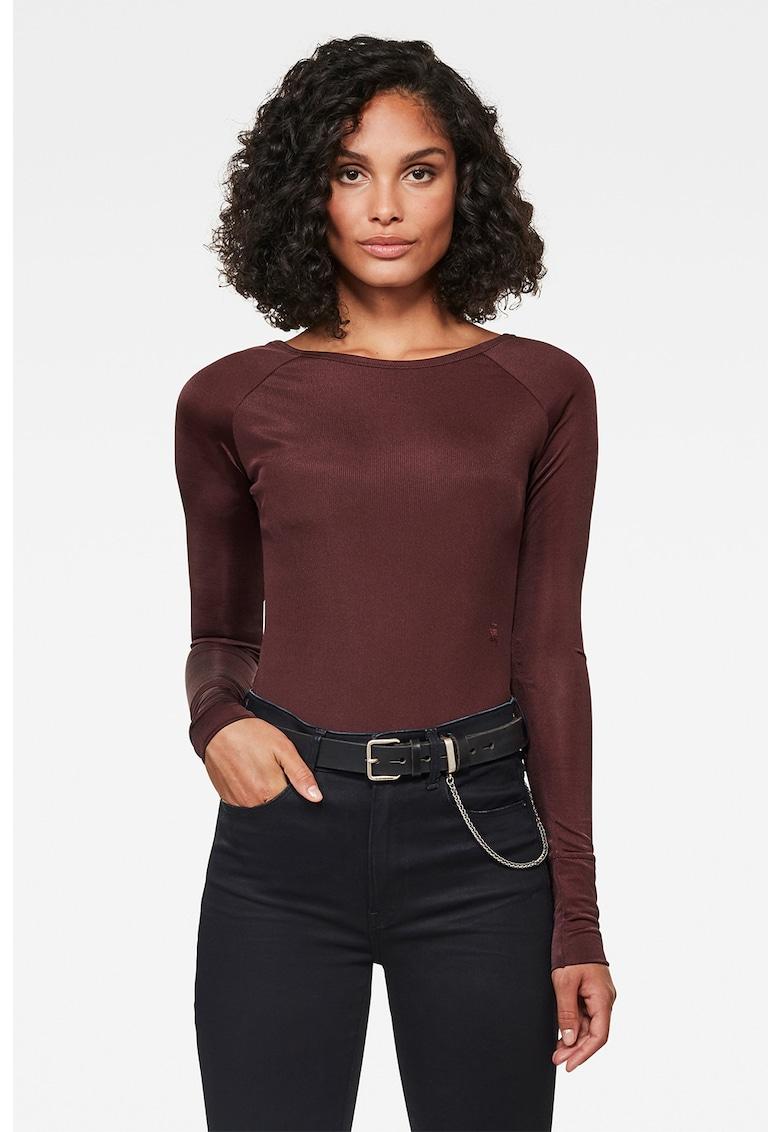 Bluza tip body cu model in dungi imagine