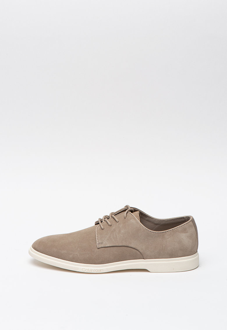 Pantofi derby de piele intoarsa Tameron