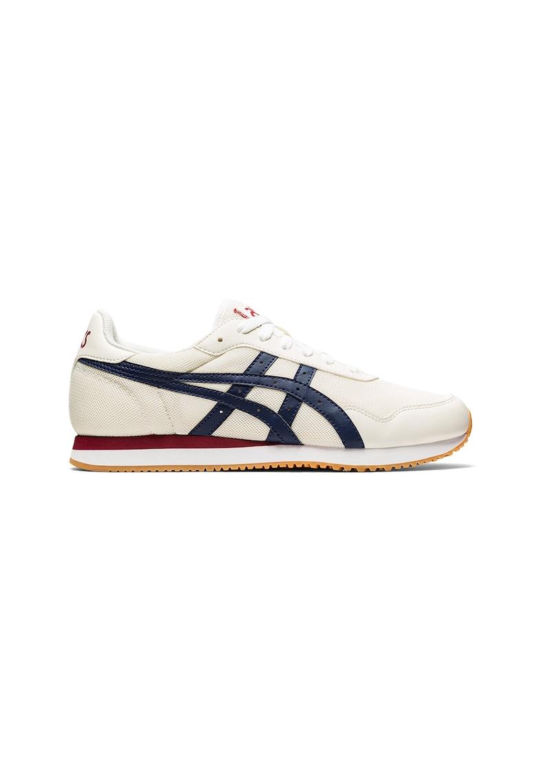 Pantofi sport de plasa - cu insertii de piele ecologica - pentru alergare Tiger