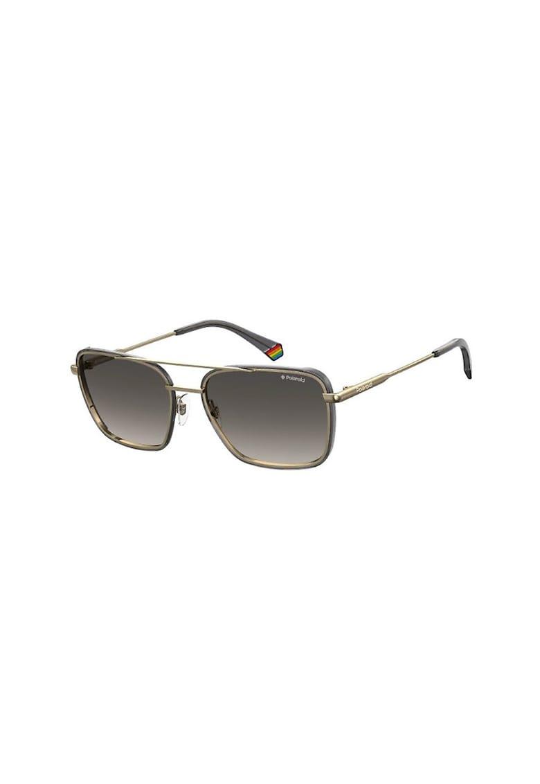 Ochelari de soare aviator patrati - cu lentile polarizate imagine