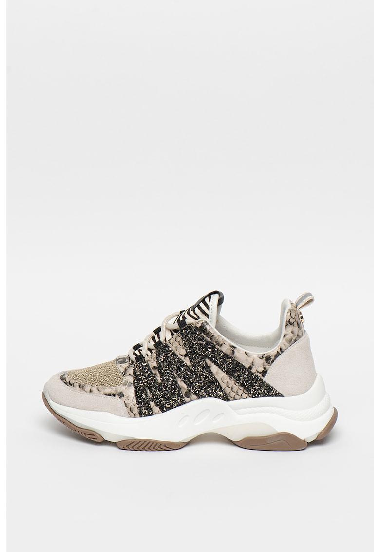 Pantofi sport cu insertii din piele intoarsa Maximus