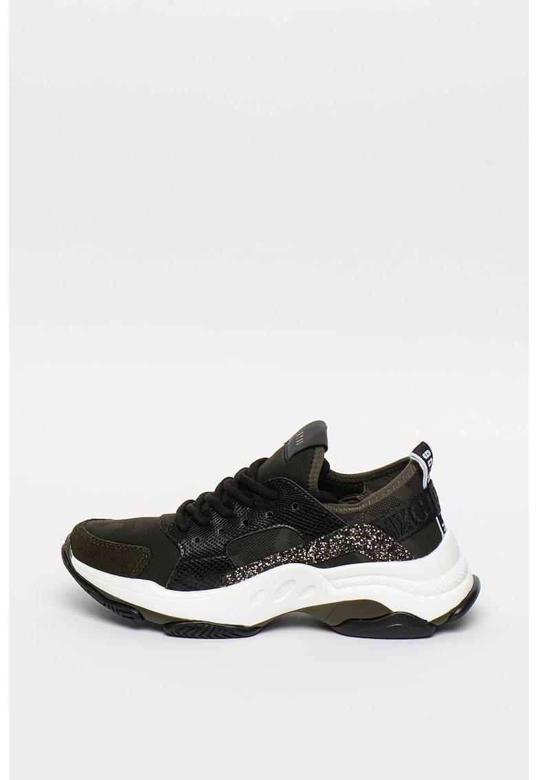 Pantofi sport cu imprimeu camuflaj si detalii stralucitoare Ajax