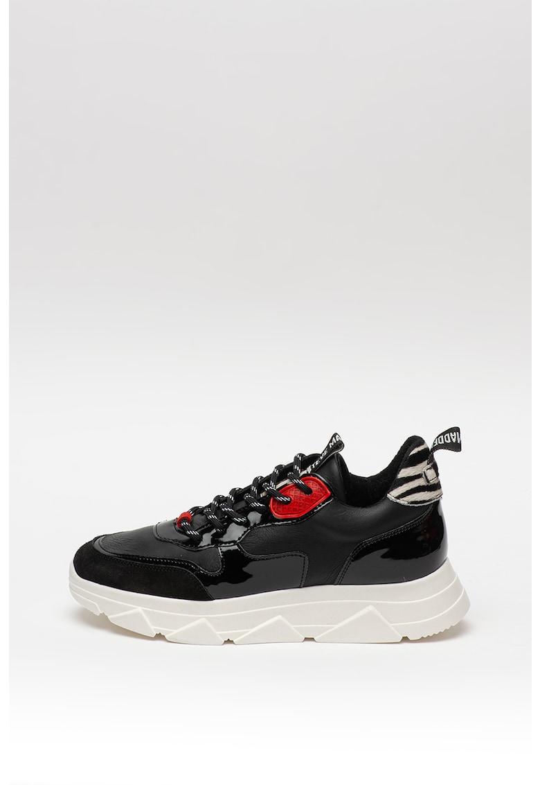 Pantofi sport de piele ecologica 3