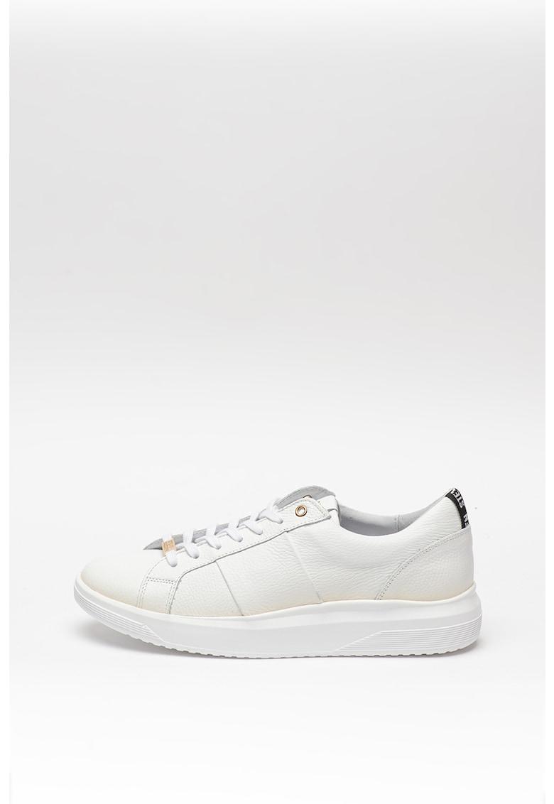 Pantofi sport de piele cu detalii aurii Onno
