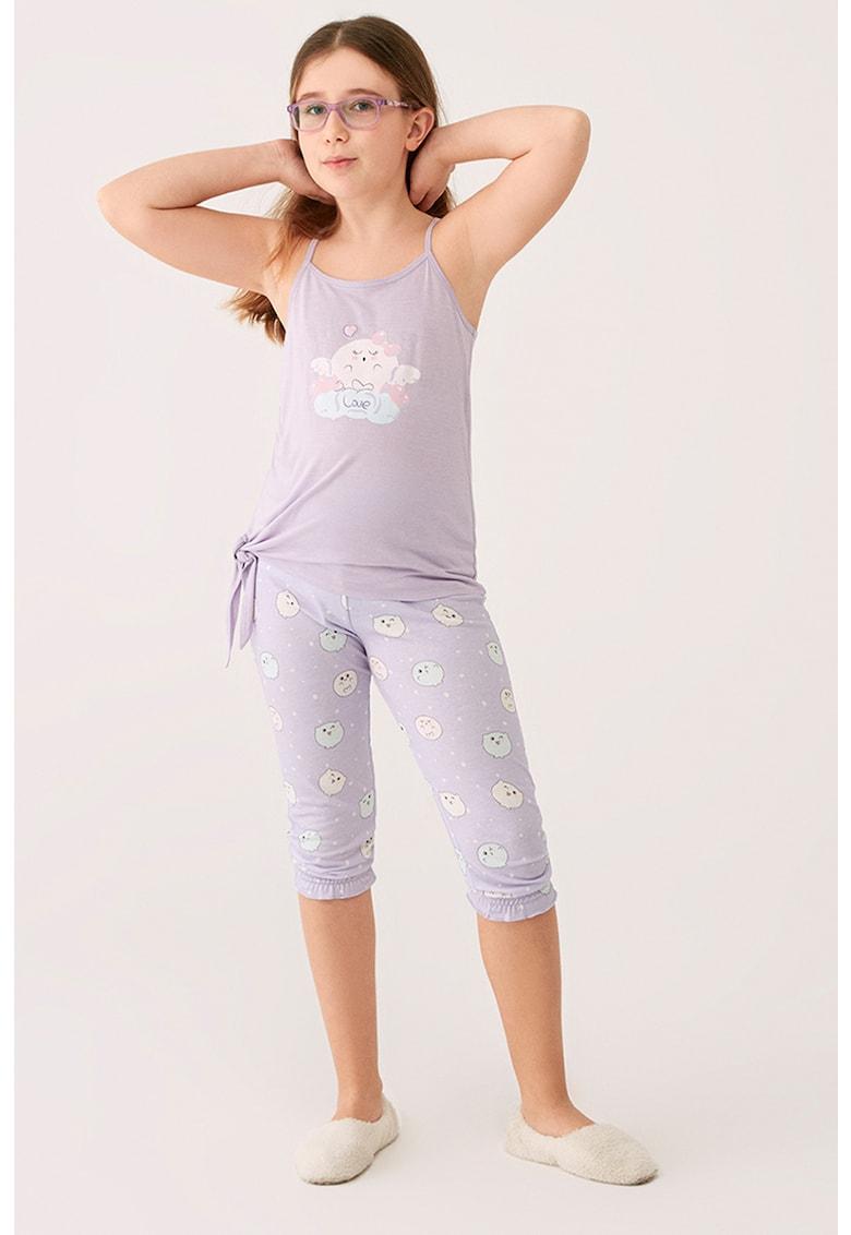 Pijama cu model grafic fashiondays.ro