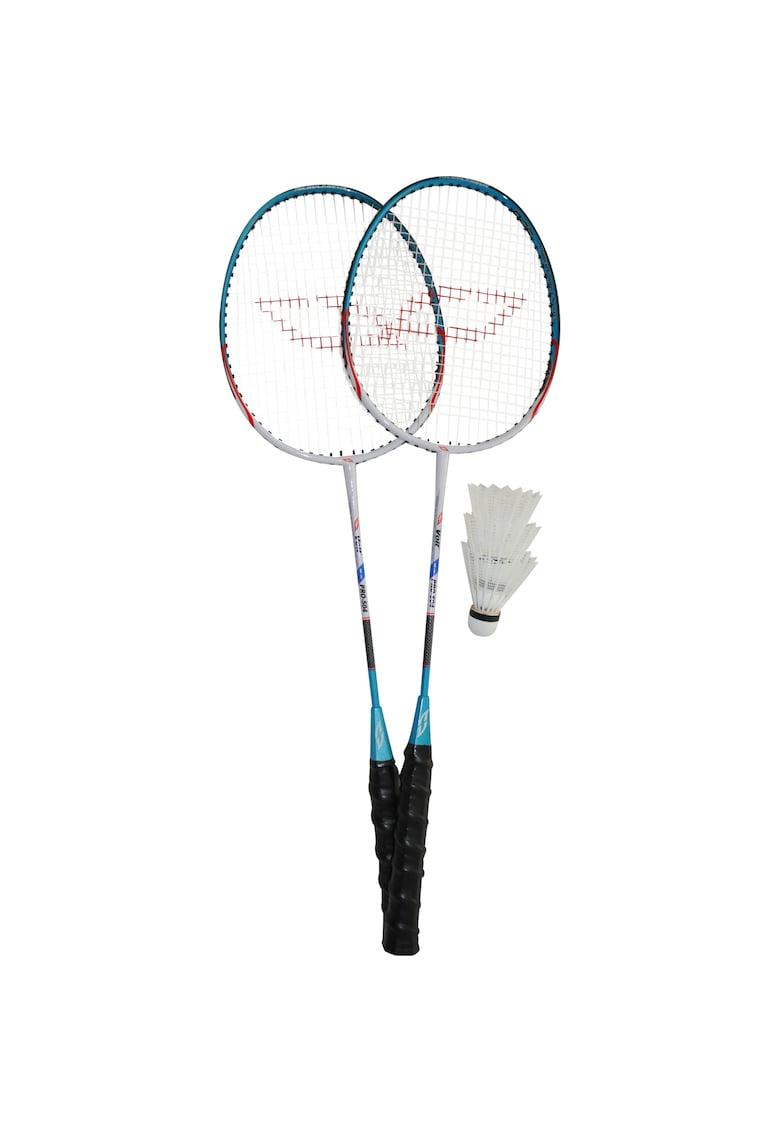 Set badminton Voit - 2 palete aluminiu + 3 fluturasi