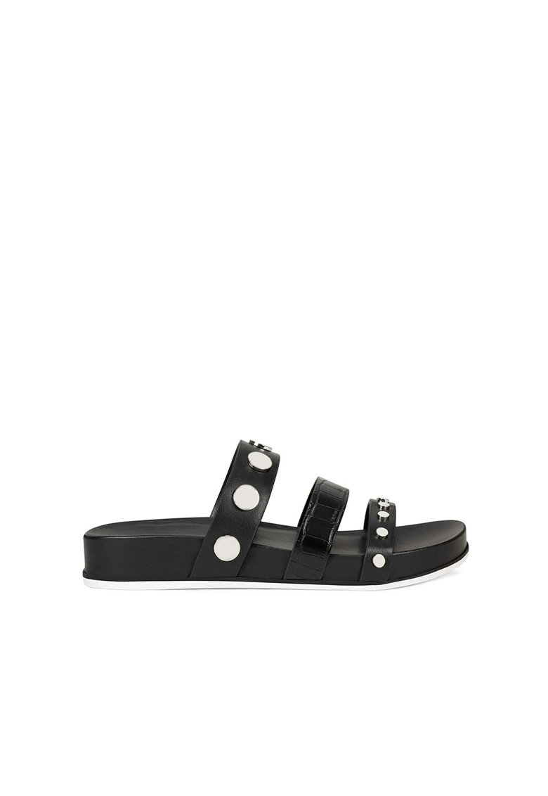 Papuci de piele cu nituri Cocco imagine