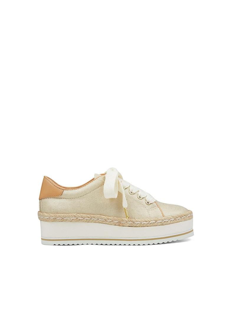 Pantofi sport tip espadrile wedge Evie 1