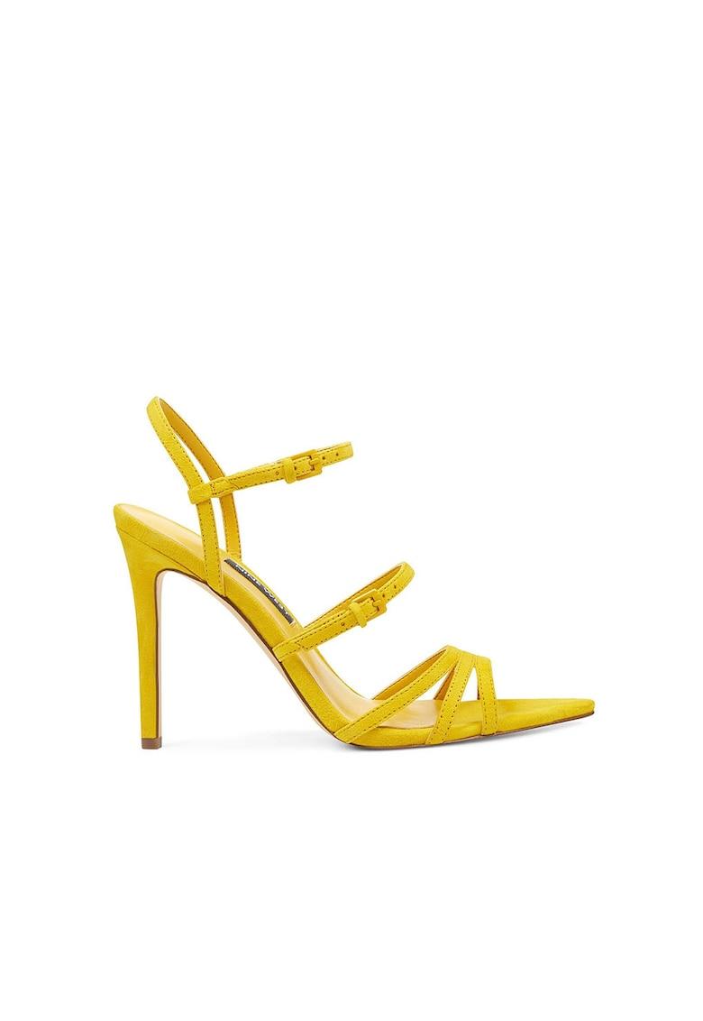 Sandale de piele intoarsa Gilfico