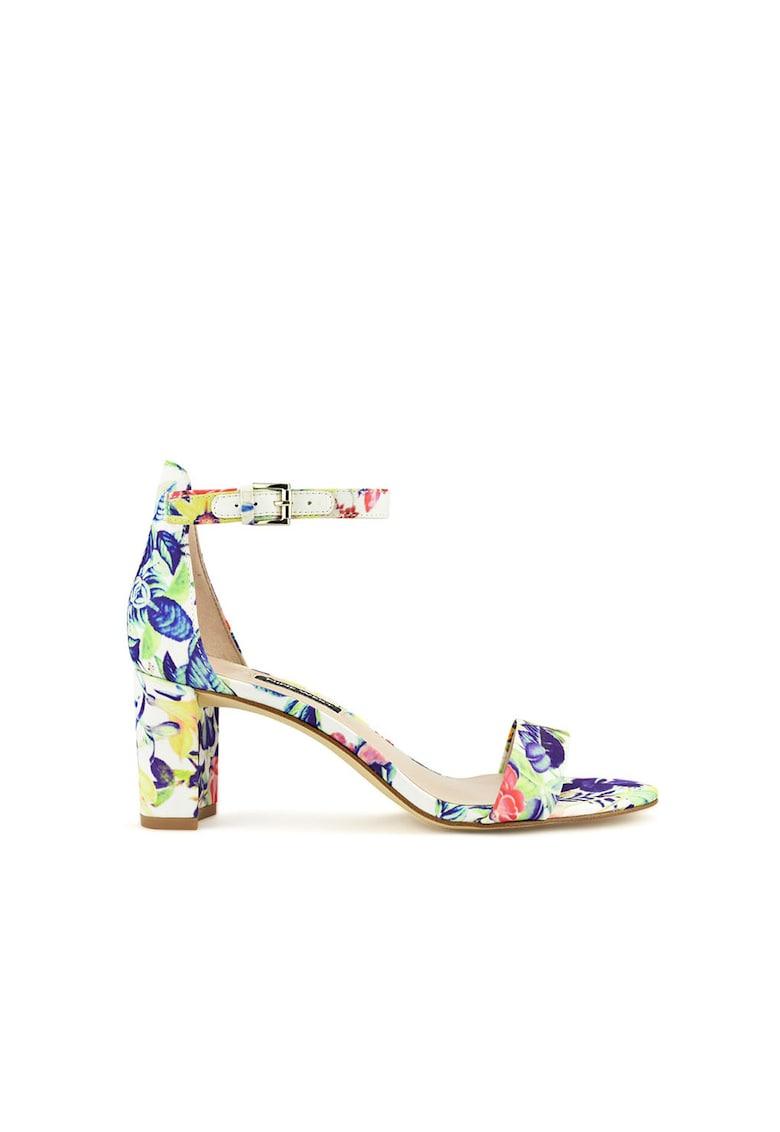 Sandale cu imprimeu floral Pruce