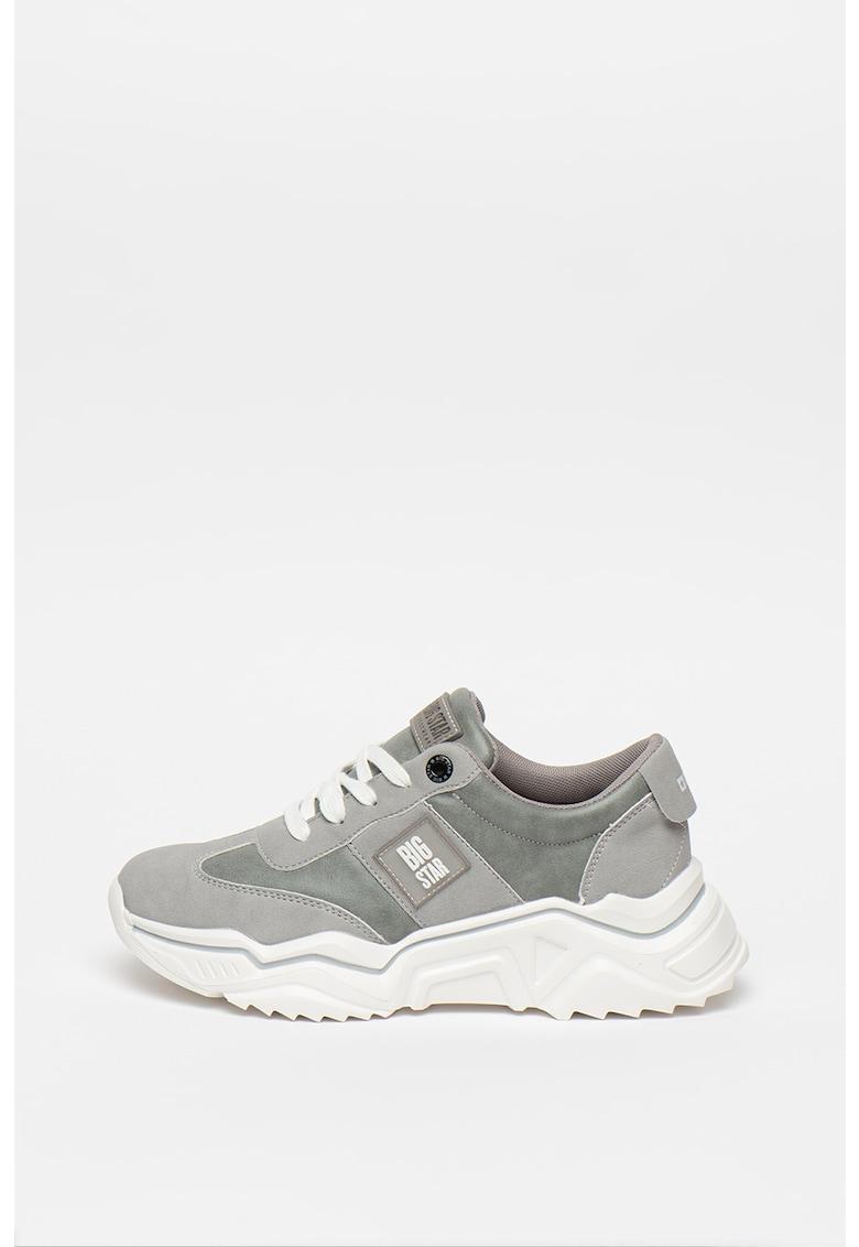 Pantofi sport de piele ecologica 2