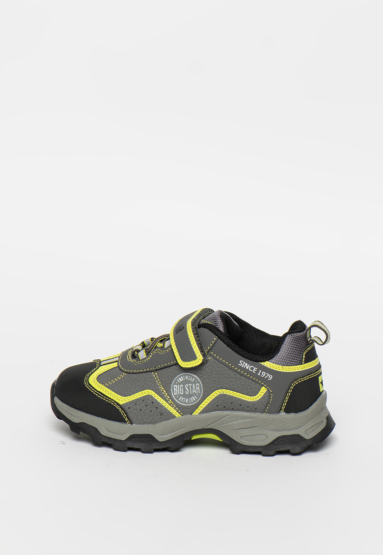 Big Star Pantofi sport cu accente contrastante