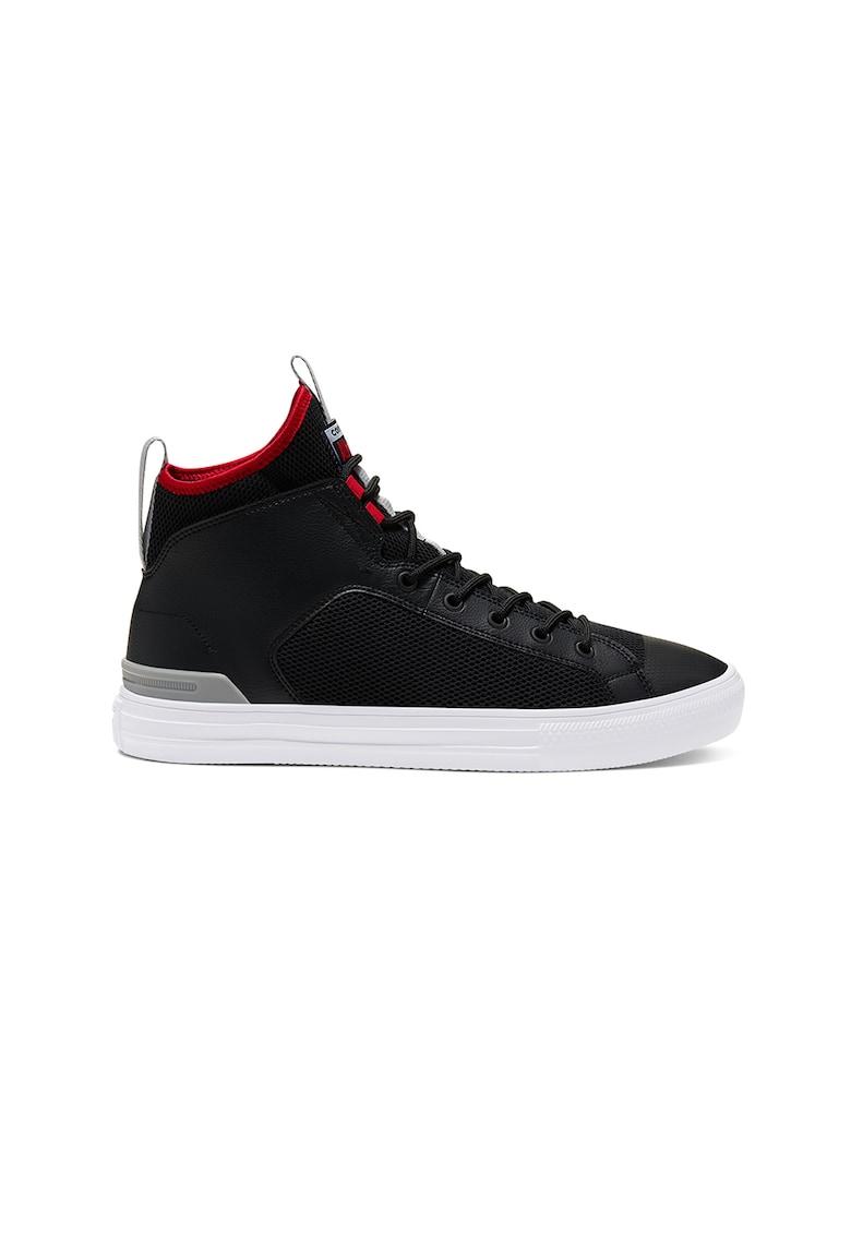 Pantofi sport unisex de plasa - cu garnituri de piele ecologica All Star Ultra 1