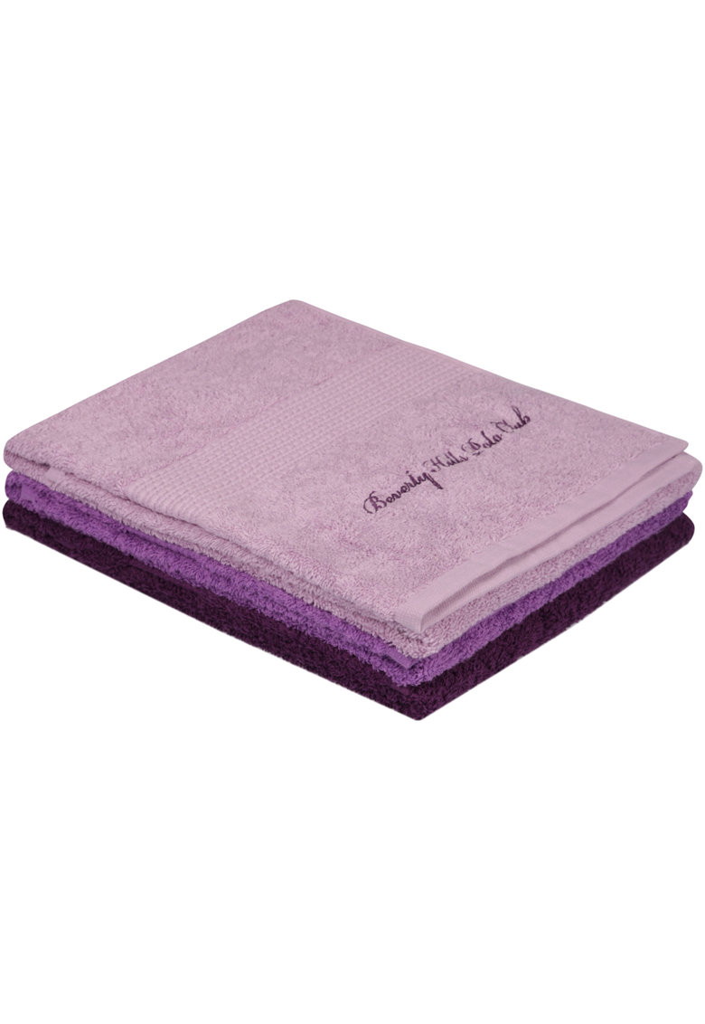 Set 3 prosoape 100% bumbac - 480 gr/m² - 50 x 90cm3 poza fashiondays