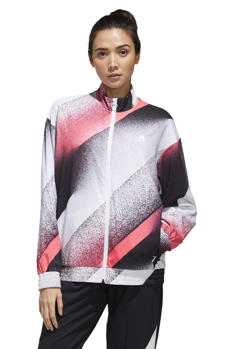 Jacheta bomber cu model abstract