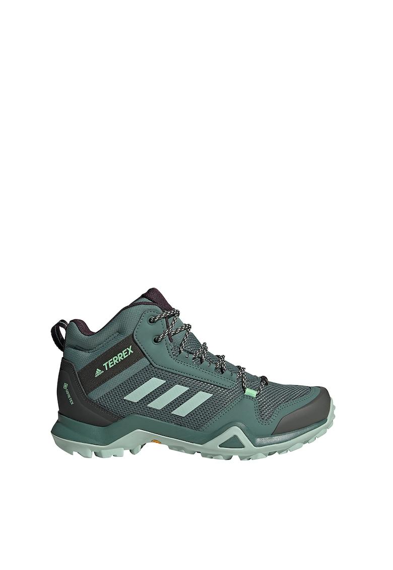 Pantofi mid-cut pentru drumetii Terrex AX3 de la adidas Performance