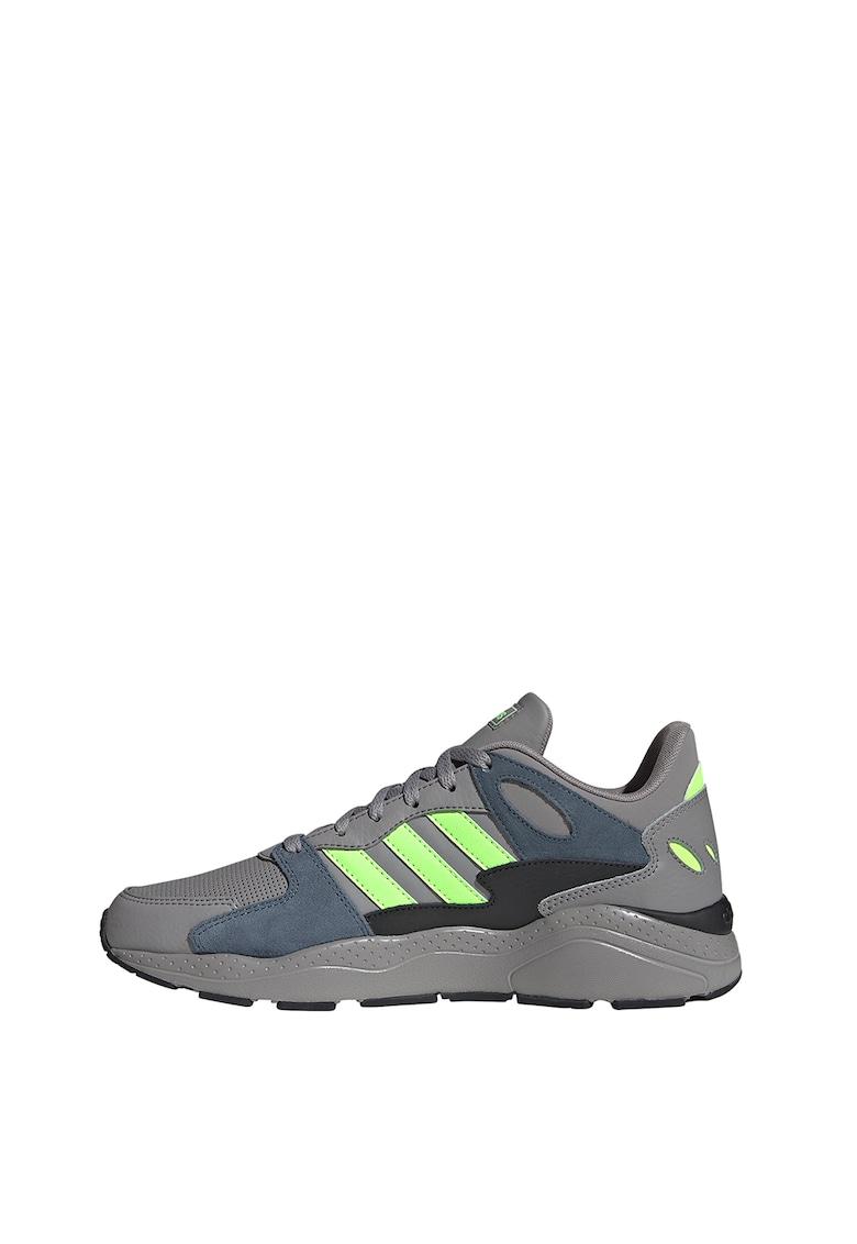 Pantofi sport de piele si piele intoarsa Crazychaos imagine
