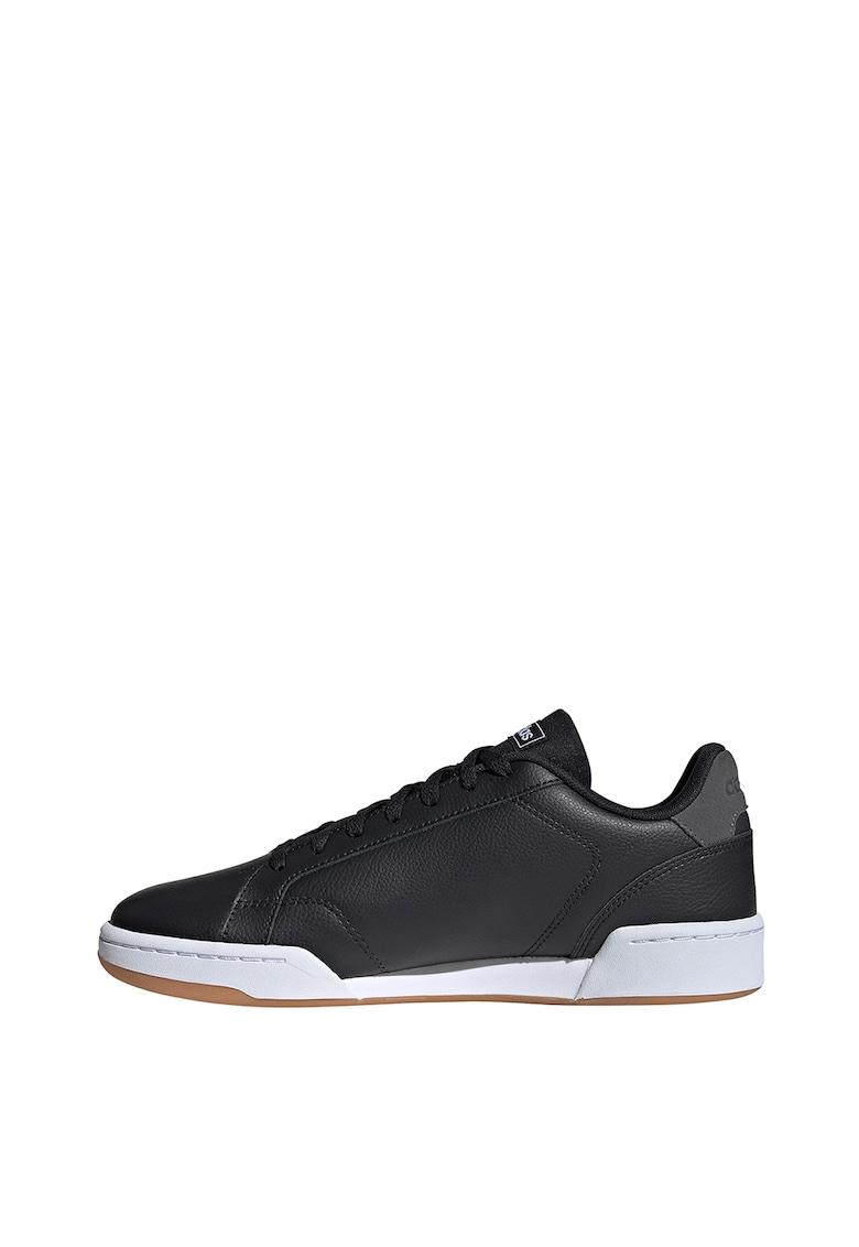 Pantofi sport de piele - cu garnituri de piele intoarsa Roguera