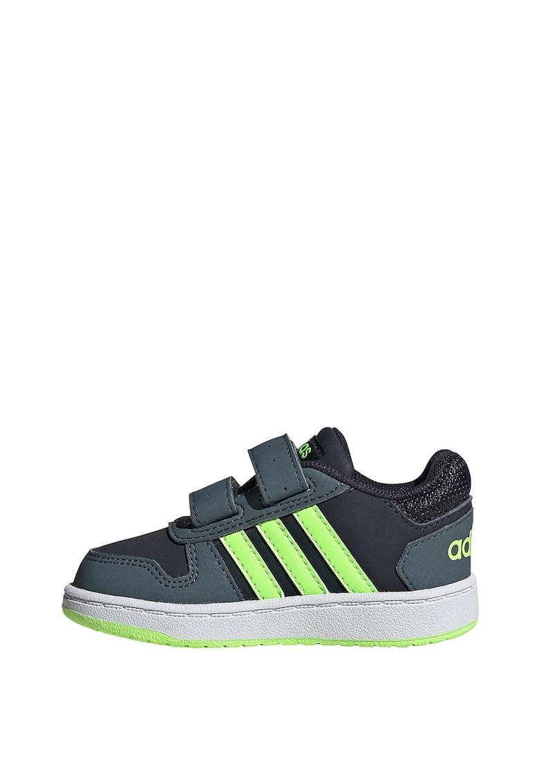 Pantofi cu velcro - pentru baschet HOOPS 2.0 CMF