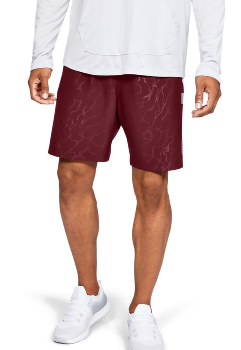 Pantaloni scurti lejeri cu imprimeu logo - pentru fitness Under Armour fashiondays.ro