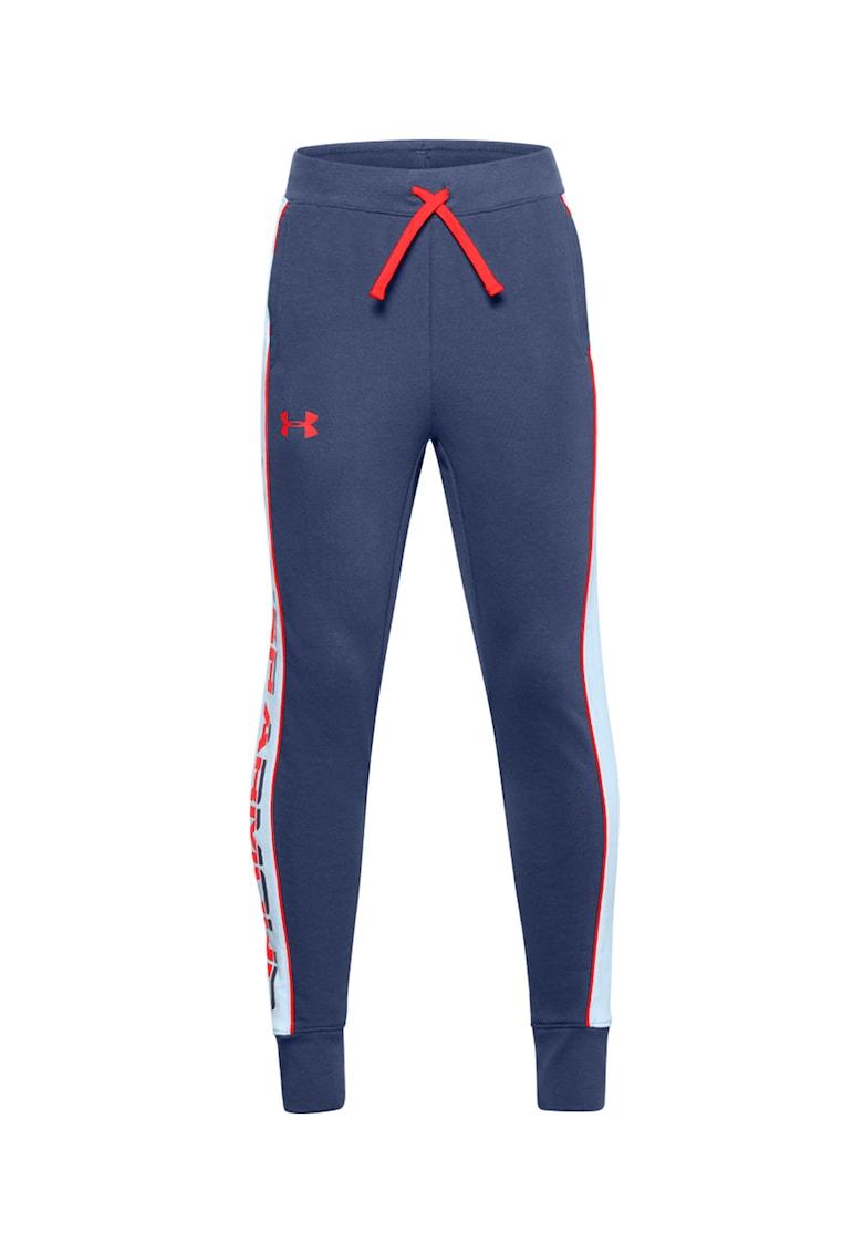 Pantaloni sport conici cu snur in talie - pentru fitness Rival de la Under Armour