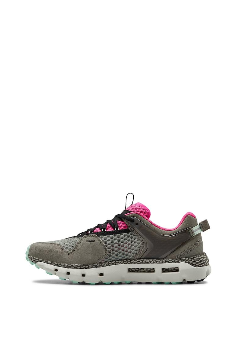Pantofi sport din tricot fin cu insertii de piele intoarsa Hovr Slk Evo 3