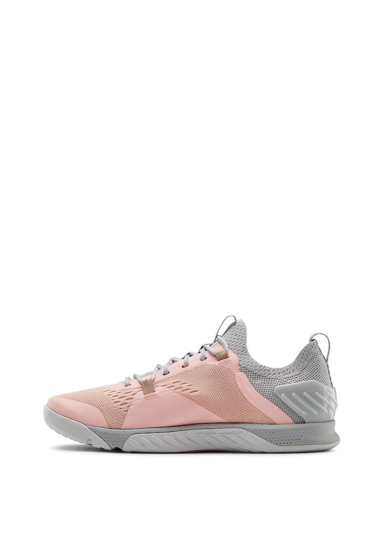 Pantofi sport de plasa cu aspect tricotat TRIBASE REIGN 2