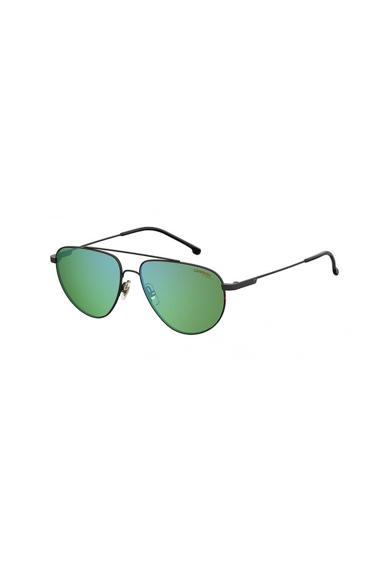 Ochelari de soare aviator cu lentile oglinda poza fashiondays