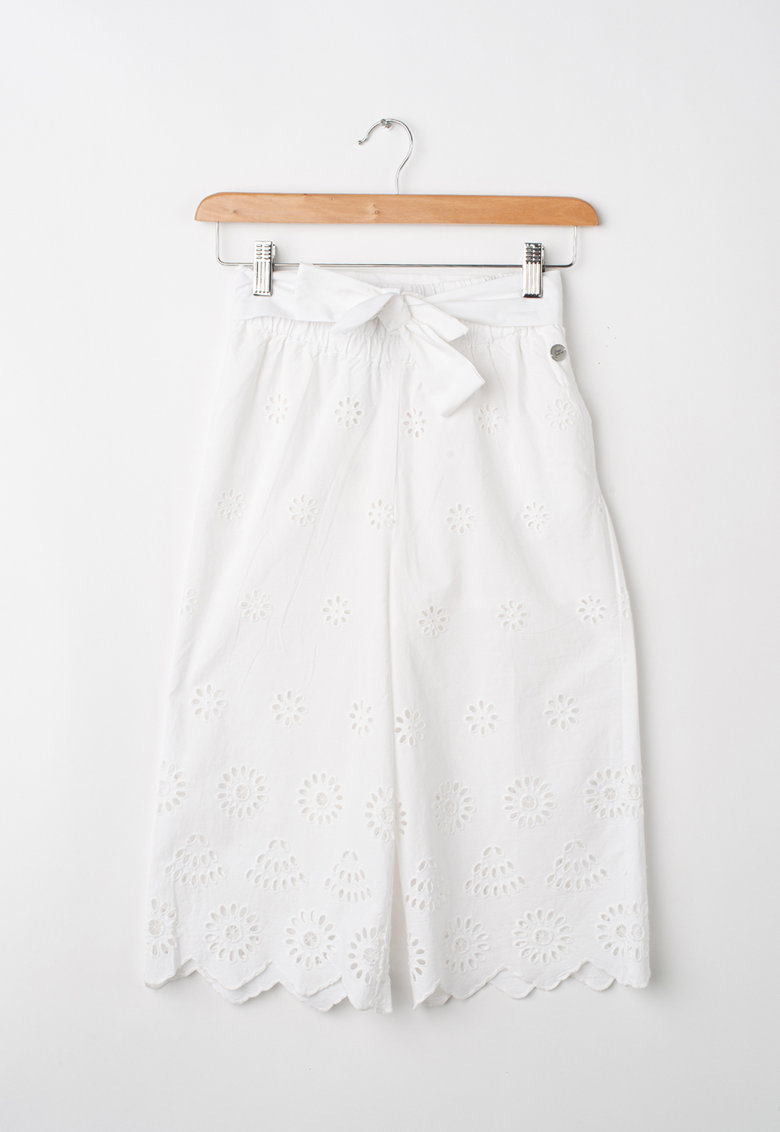 Pantaloni cu model cu decupaje imagine fashiondays.ro