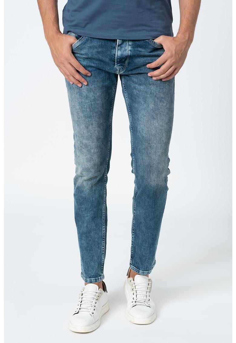 Pepe Jeans London Blugi drepti decolorati Spike