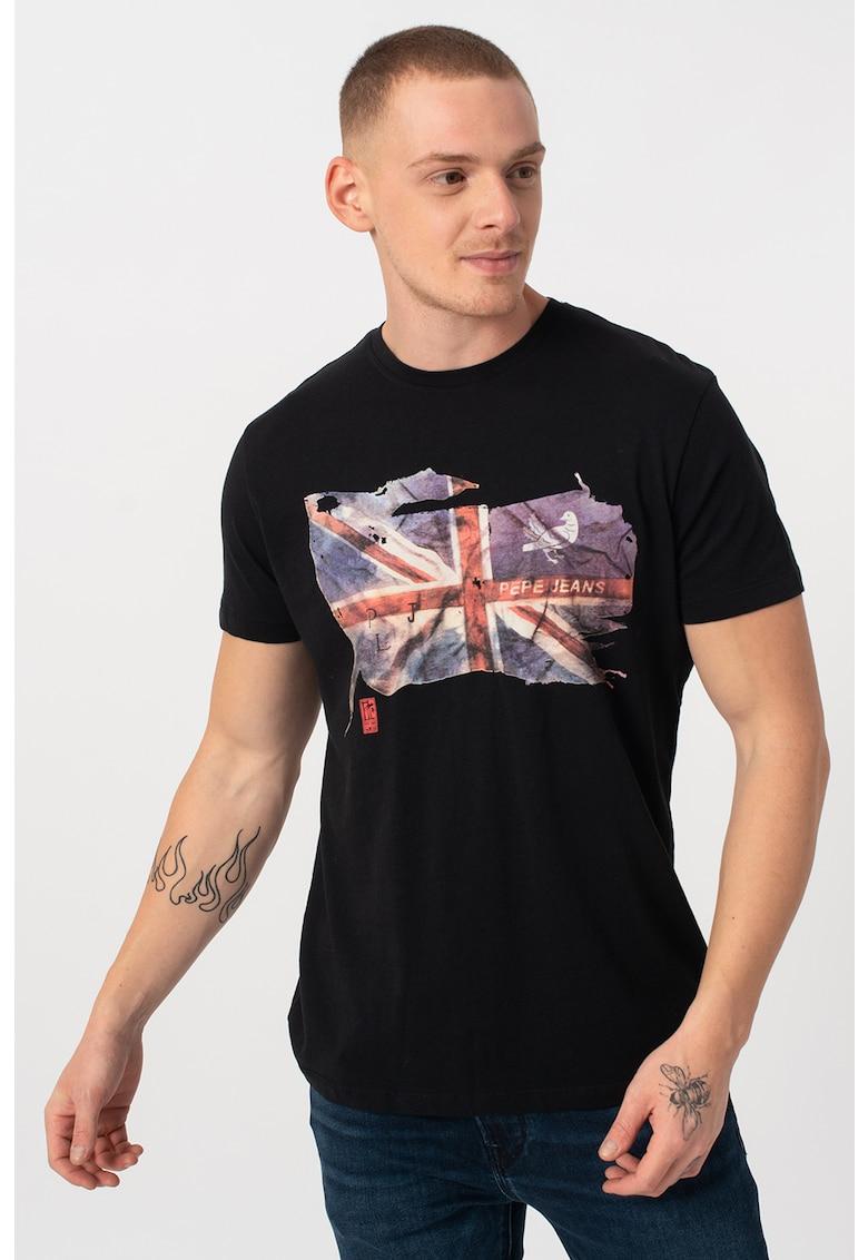 Tricou cu imprimeu grafic Sid