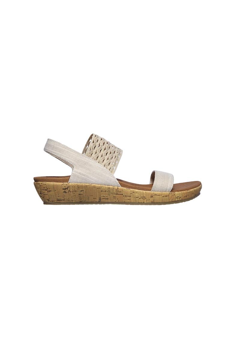 Sandale slingback wedge Brie-Most imagine
