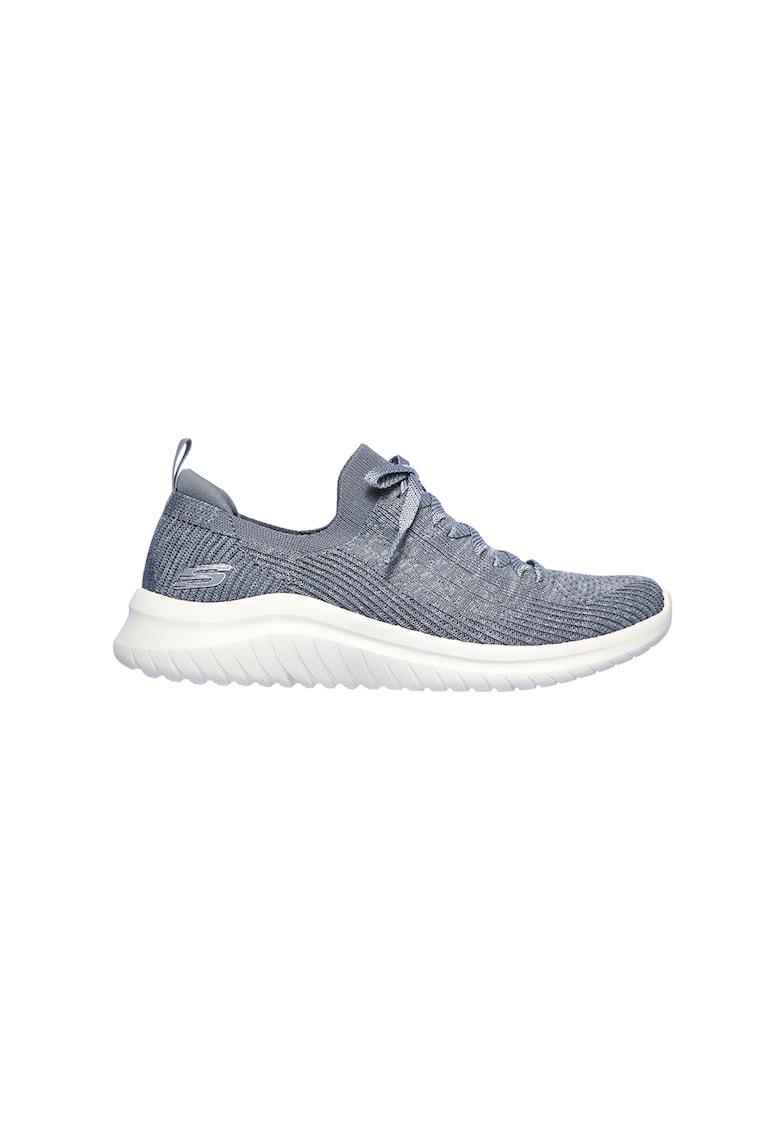 Pantofi sport slip-on cu design tricotat Ultra Flex 2.0 2