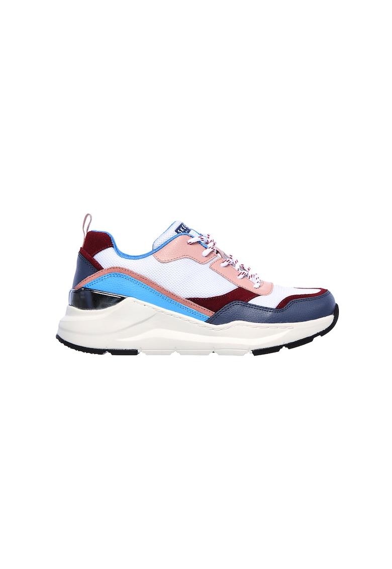 Pantofi sport cu insertii de plasa Rovina Chic