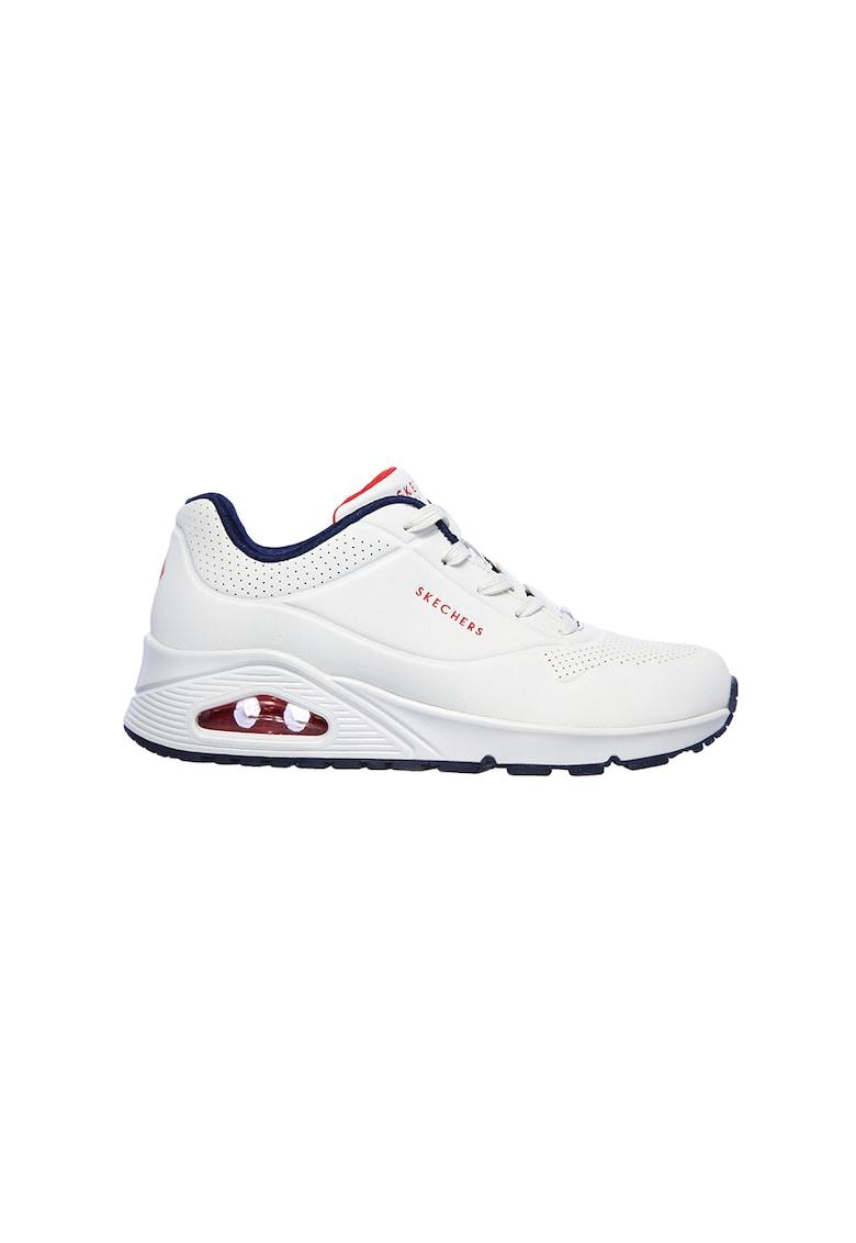 Pantofi sport de piele ecologica Uno-Stand 1