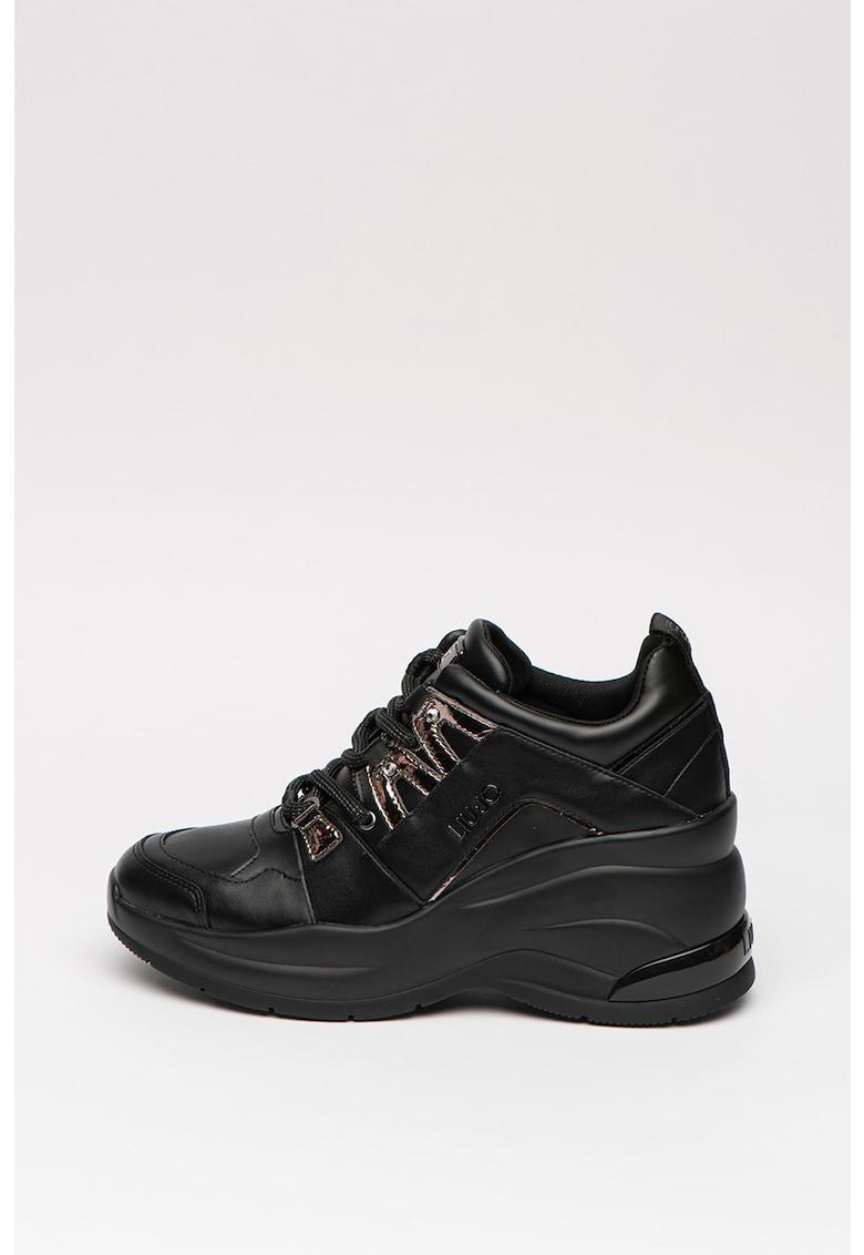 Pantofi sport cu model logo Hoa 3