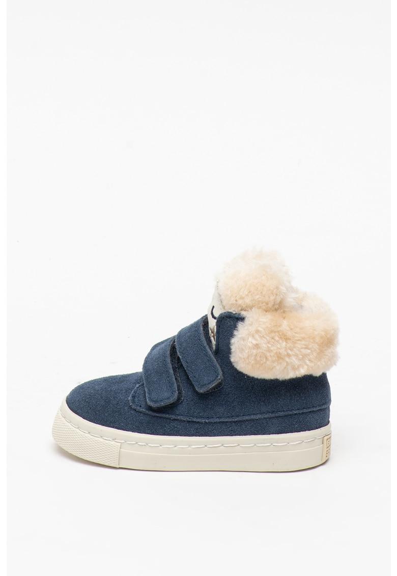 Gioseppo Pantofi sport din piele intoarsa si material textil - cu inchidere velcro Demoins