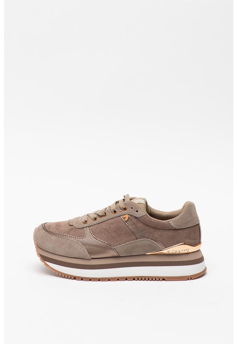 Pantofi sport din piele intoarsa Ausses