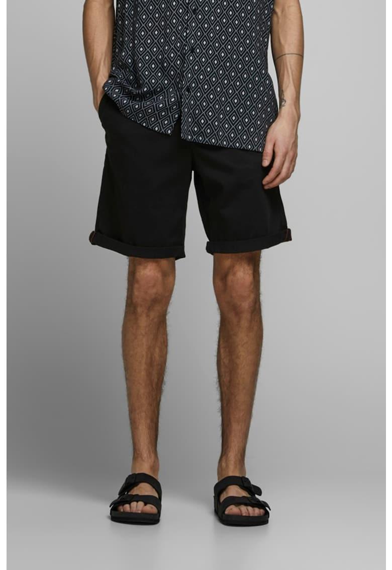 Pantaloni scurti chino slim fit Bowie imagine fashiondays.ro