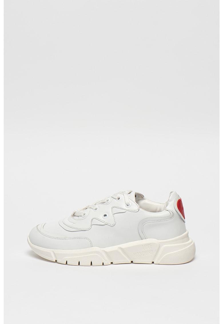 Pantofi sport mid cut cu constructie tip soseta 2